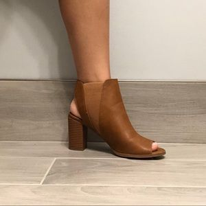 Call It Spring Shoes - Heeled Peep-toe Booties